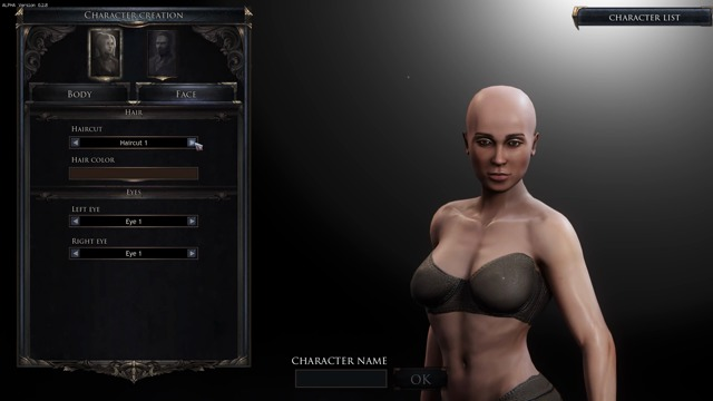 Update 0.2.8 - Female Character